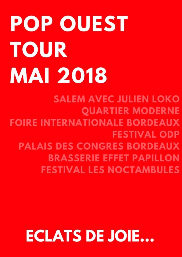 POP OUEST TOUR